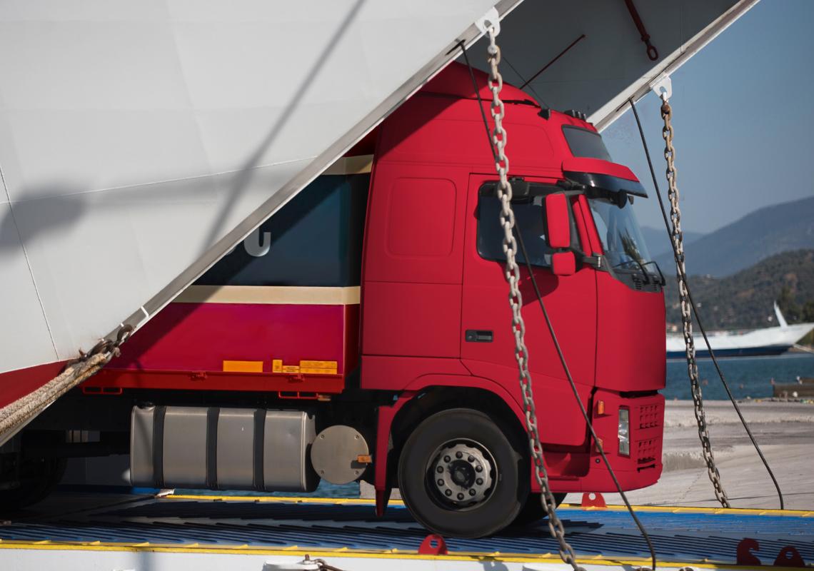 Vrachtwagen - Logistieke douane fiscale zaken - Jan Krediet