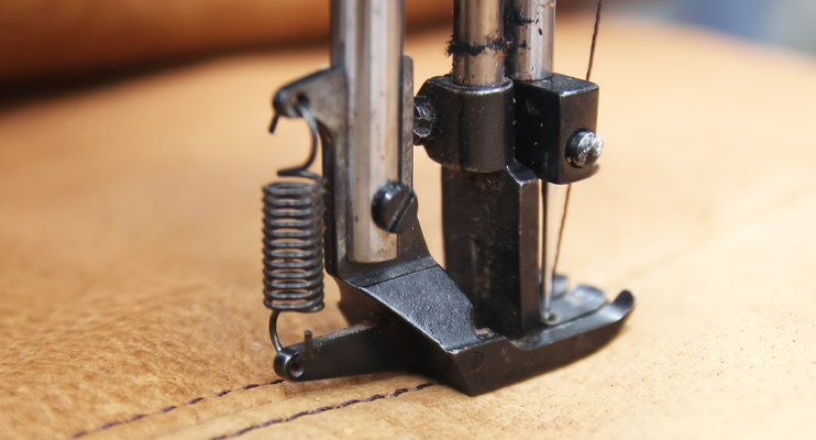 Naaimachine leer - Logistieke oplossingen meubelsector - Jan Krediet