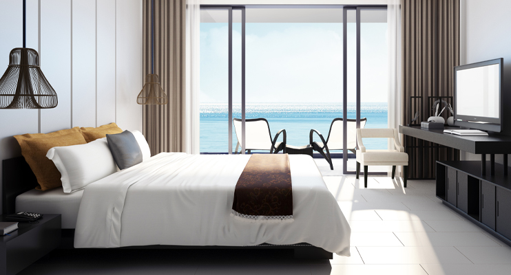 Hotelkamer - Logistieke oplossingen accommodatiesector - Jan Krediet