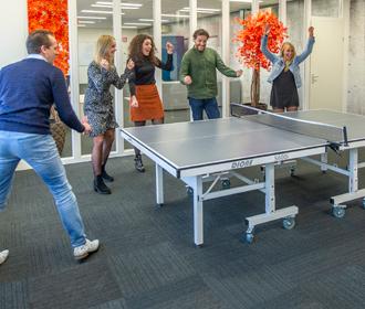 Table tennis - our team - Jan Krediet