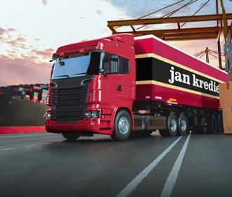 Vrachtwagen - Freightlogistiek - Jan Krediet