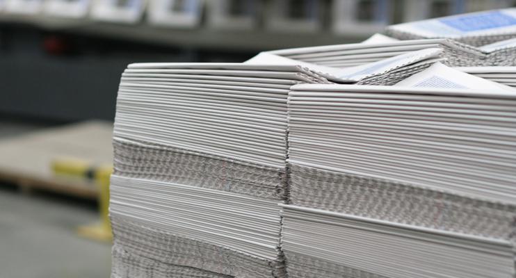 Drukwerk - logistieke oplossingen mediasector - Jan Krediet