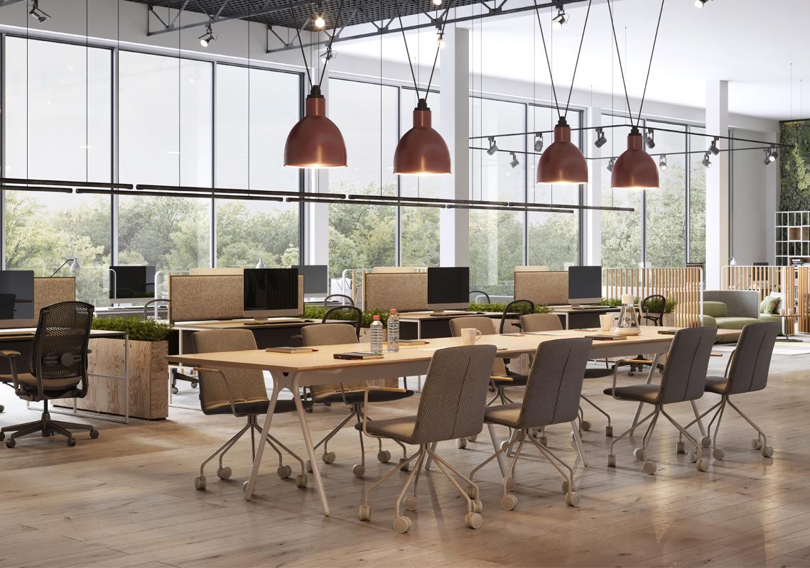 Kantoortuin - logistieke oplossingen kantorensector - Jan Krediet