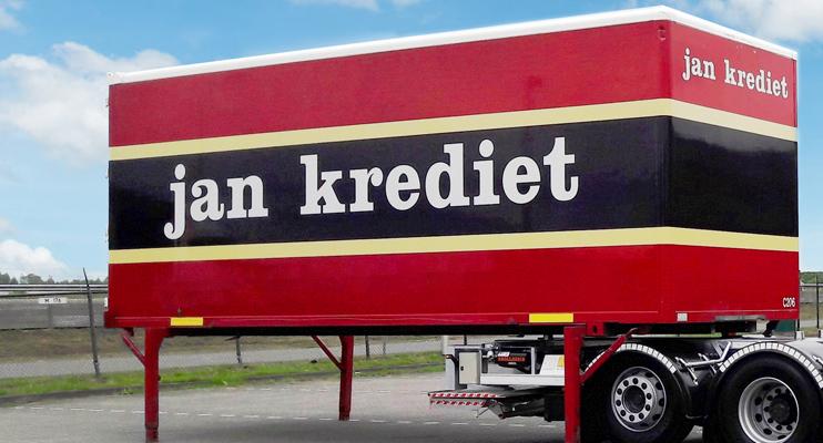 Swap container - Keukenlogistiek - Jan Krediet